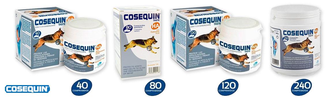 Oferta Condroprotectores Cosequin 40, 80, 120 y 240 comprimidos.