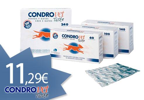 Oferta Condroprotectores CondroVet Taste y Force HA