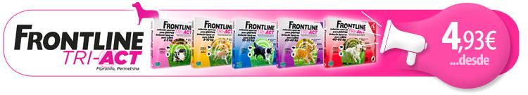Antiparasitario Externo para Perro FrontLine Tri-Act Desde 4,93 Eur