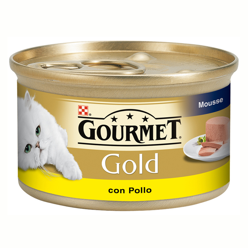 Gourmet Gold Mousse with Chicken 85gr