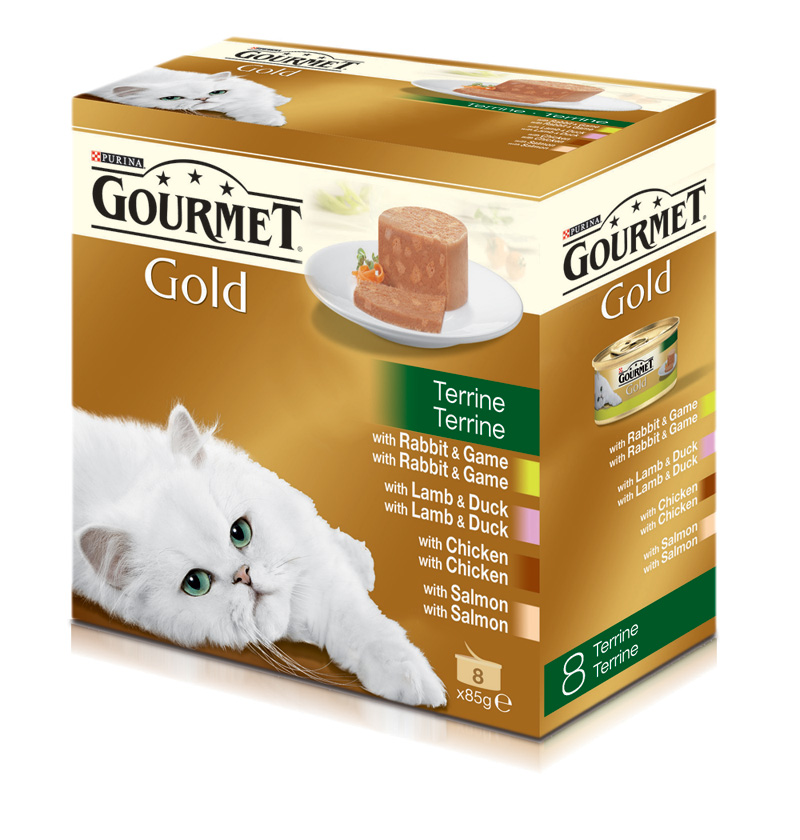 Gourmet Gold Terrine Assortment 8x85gr