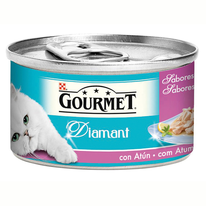 Gourmet Diamant Ocean Flavors with Tuna 85gr