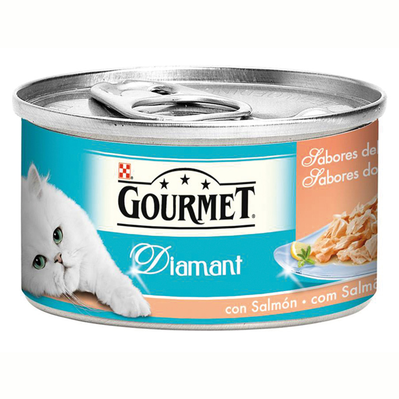 Gourmet Diamant Ocean Flavors with Salmon 85gr
