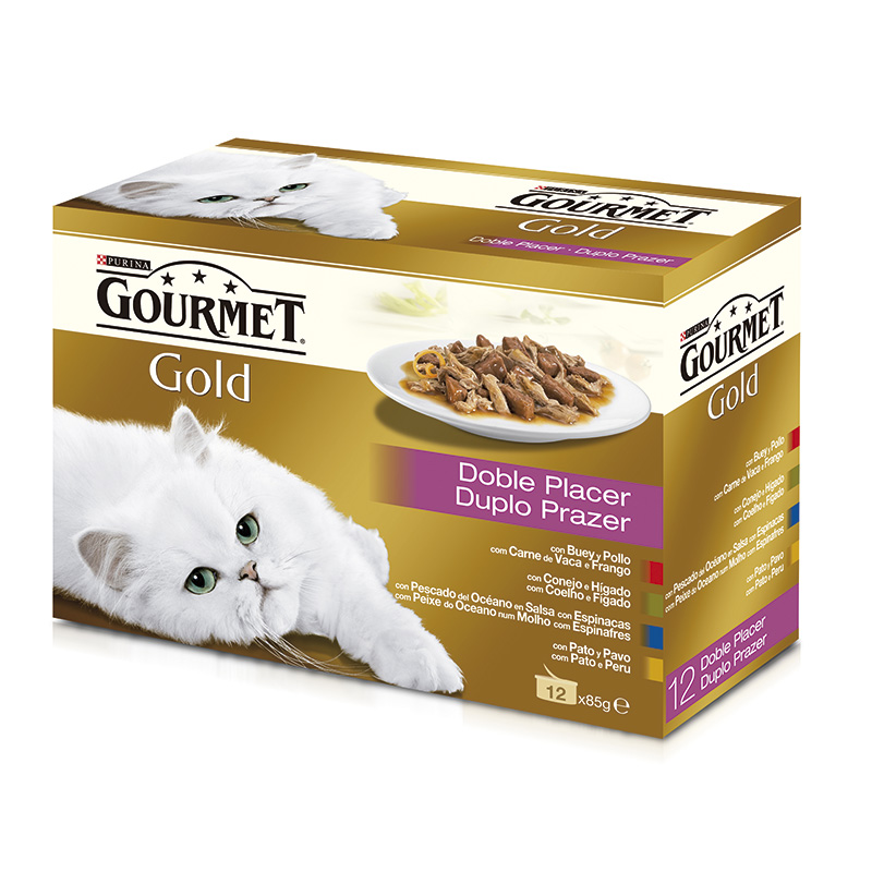 Gourmet Gold Double Delicacies 12x85gr