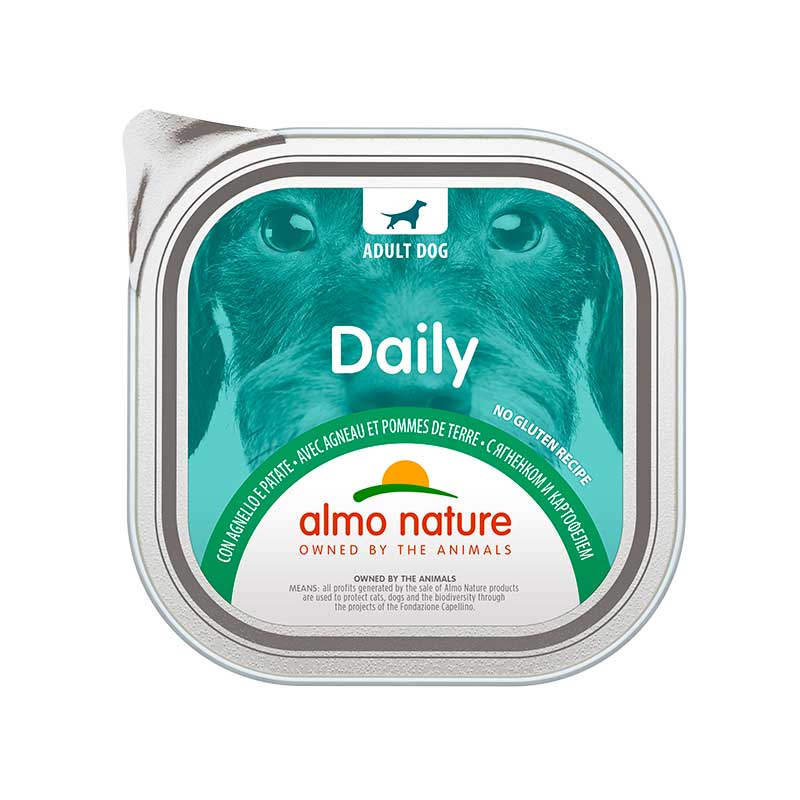 Almo Nature Daily Menu with Lamb and Potatoes
