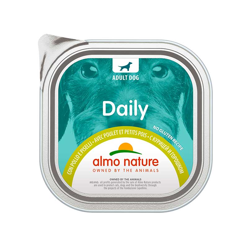 Almo Nature Daily Menu with Chicken and Peas