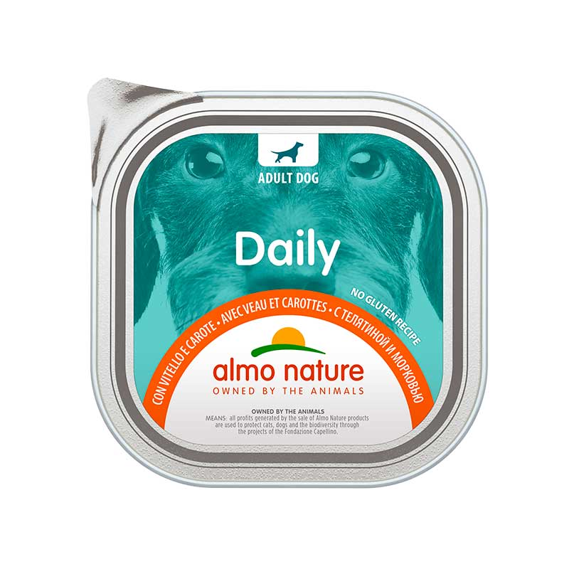 Almo Nature Daily Menu with Veal and Carrots