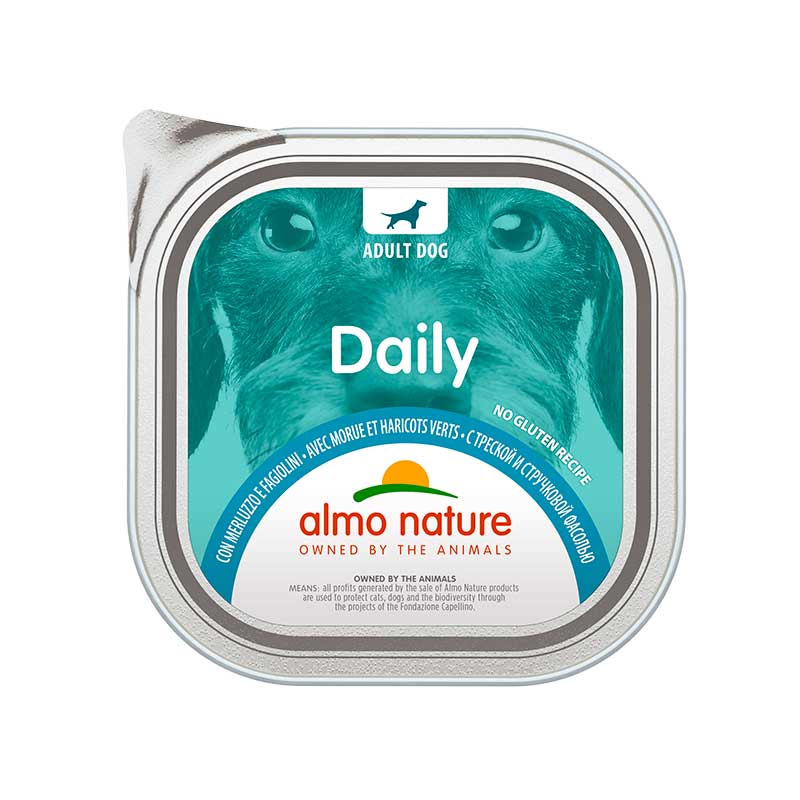 Almo Nature Daily Menu with Cod and Green Beans