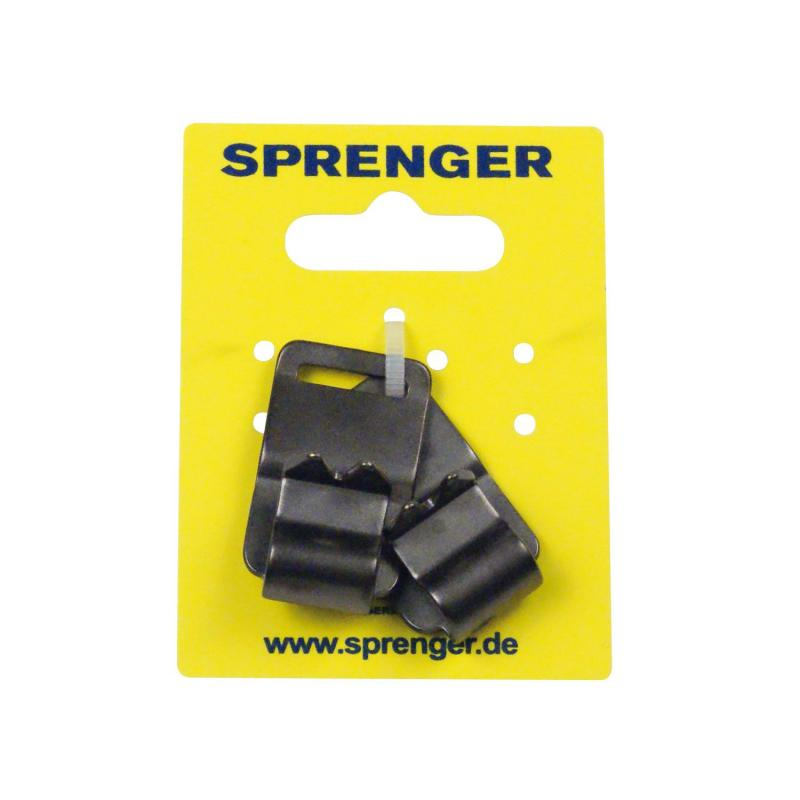 HS Sprenger Neck-Tech Links With Spikes Stainless Black