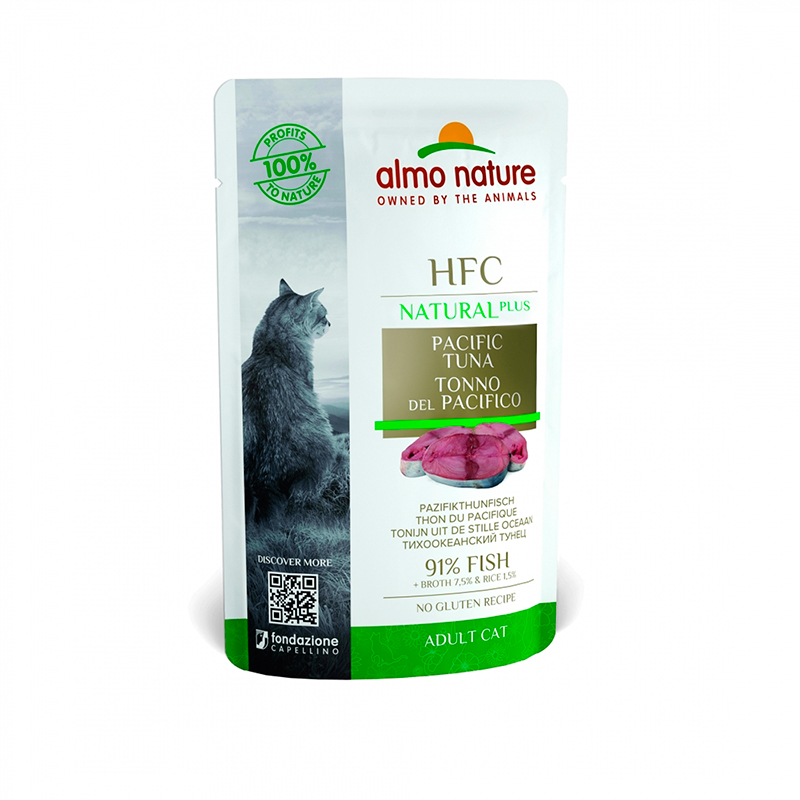 Almo Nature HFC Alternative Pacific Tuna Pouch for Cat