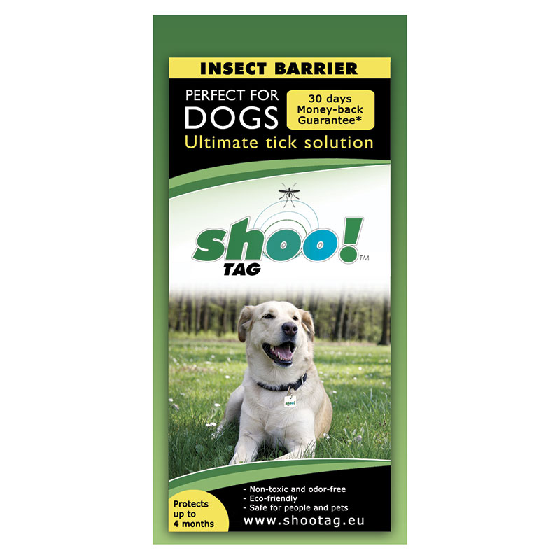 Shoo!Tag for dogs-Tick