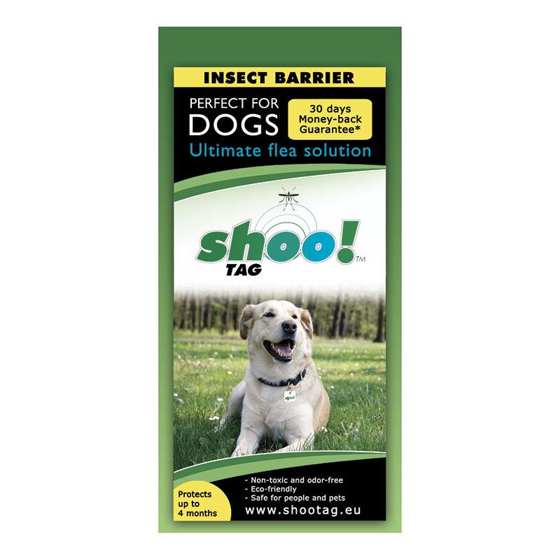 Shoo!Tag para perros-Pulgas