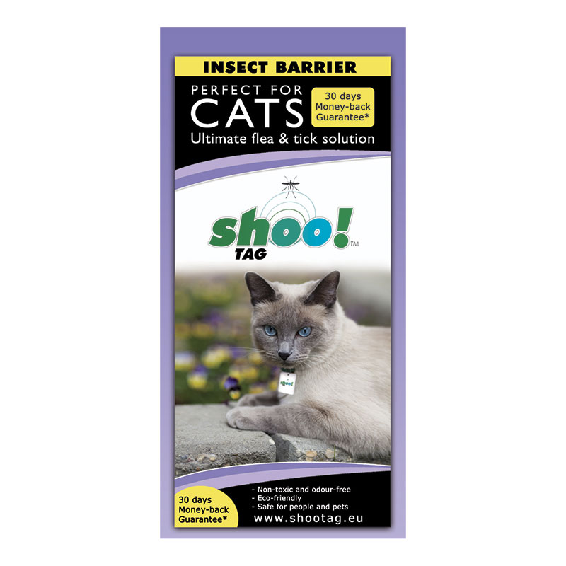 Shoo!Tag for cats-Tick+Fleas