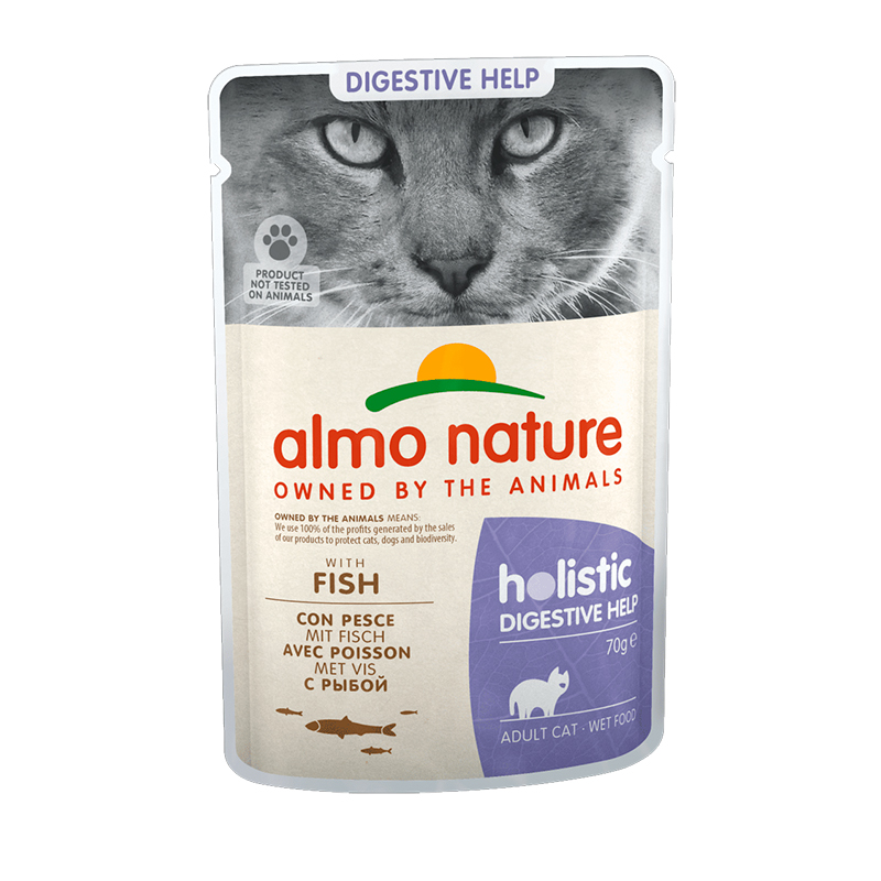 Almo Nature Adult Cat Sensitive con Pescado  70gr. Lata Gatos