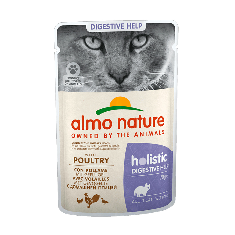 Almo Nature Adult Cat Sensitive con Pollo 70gr. Lata Gatos