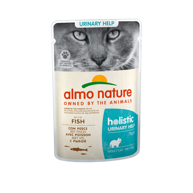 Almo Nature Adult Cat Urinary Support Fish 70gr
