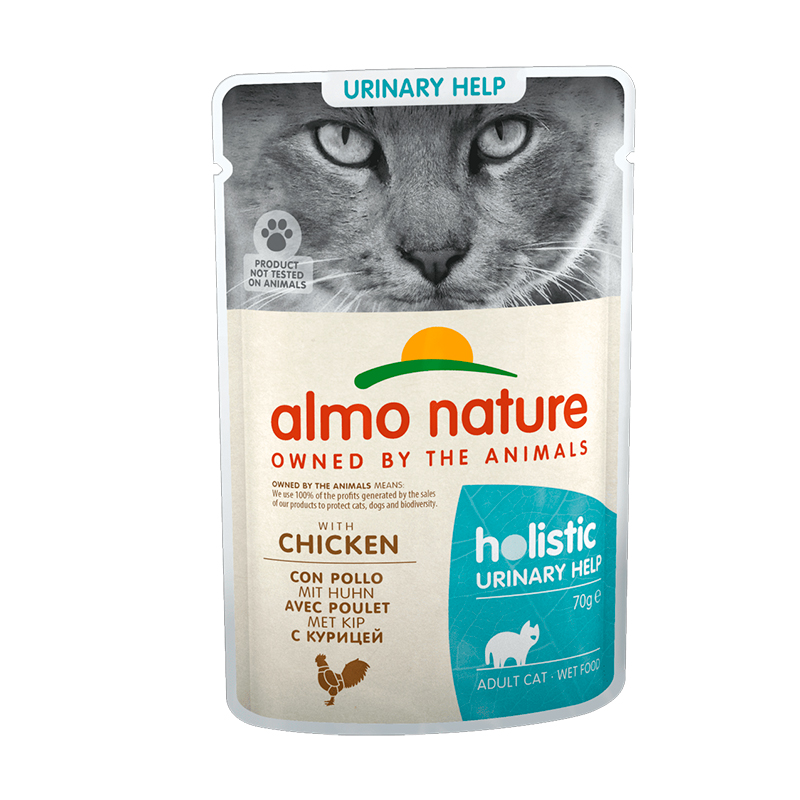 Almo Nature Adult Cat Urinary Support Chicken 70gr