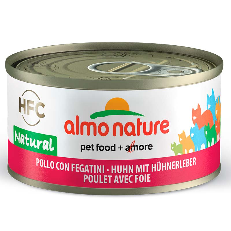 Almo Nature Legend Pollo e Hígado 70gr. Lata Gatos