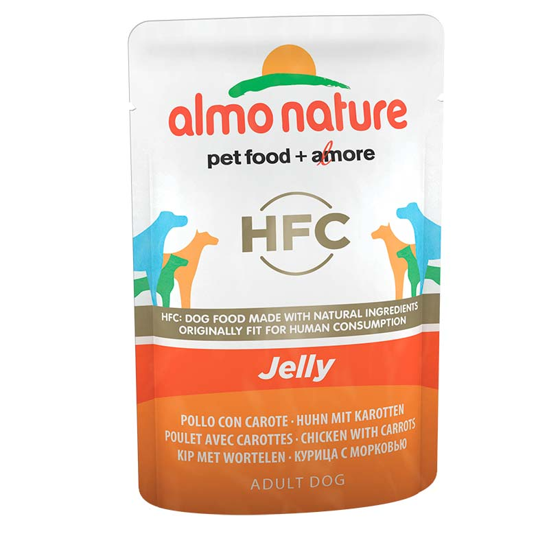 Almo Nature Classic Jelly with Chicken and Carrots
