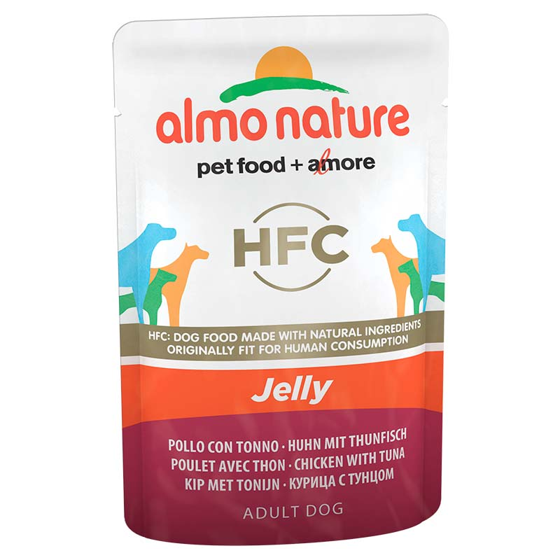 Almo Nature Classic Jelly with Chicken and Tuna