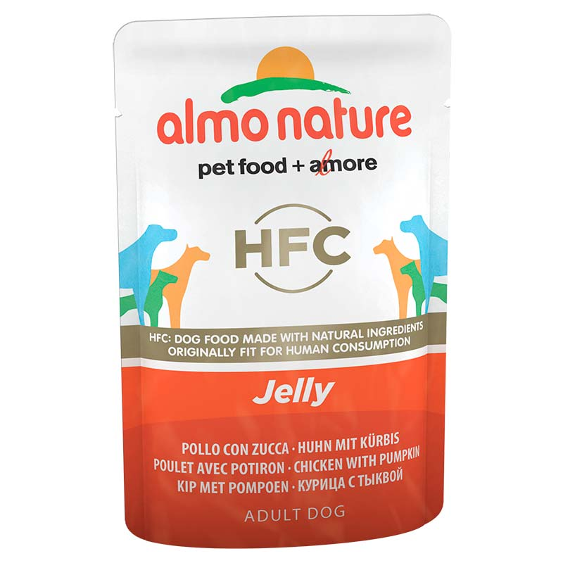 Almo Nature Classic Jelly with Chicken and Pumpkin