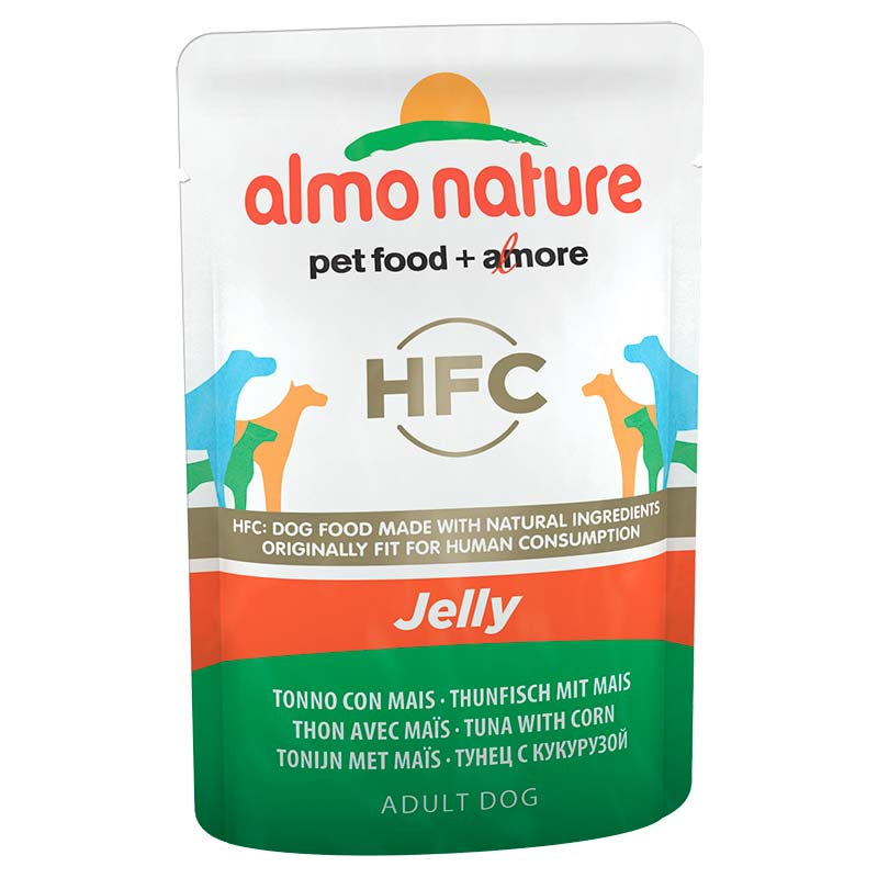 Almo Nature Classic Jelly with Tuna and Sweet Corn