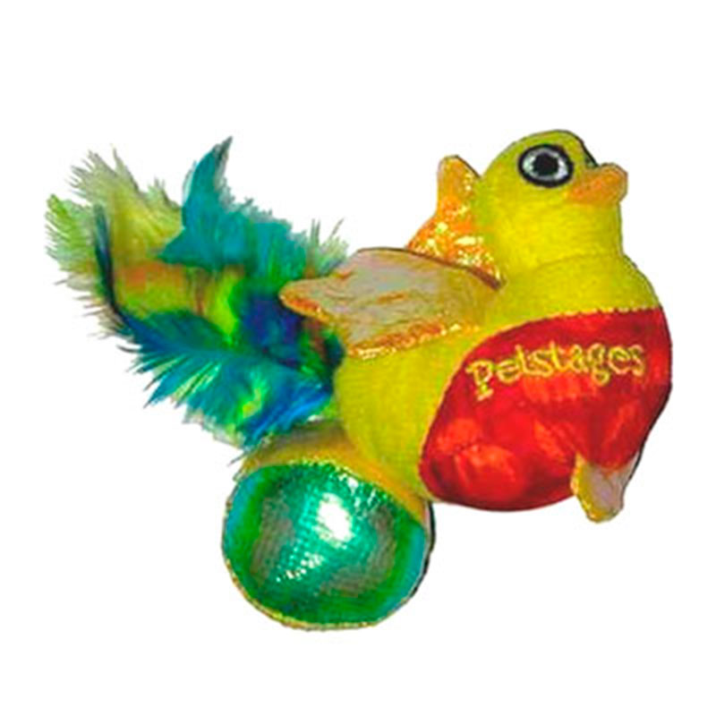 Catnip Bird and Ball Petstages Cat Toy