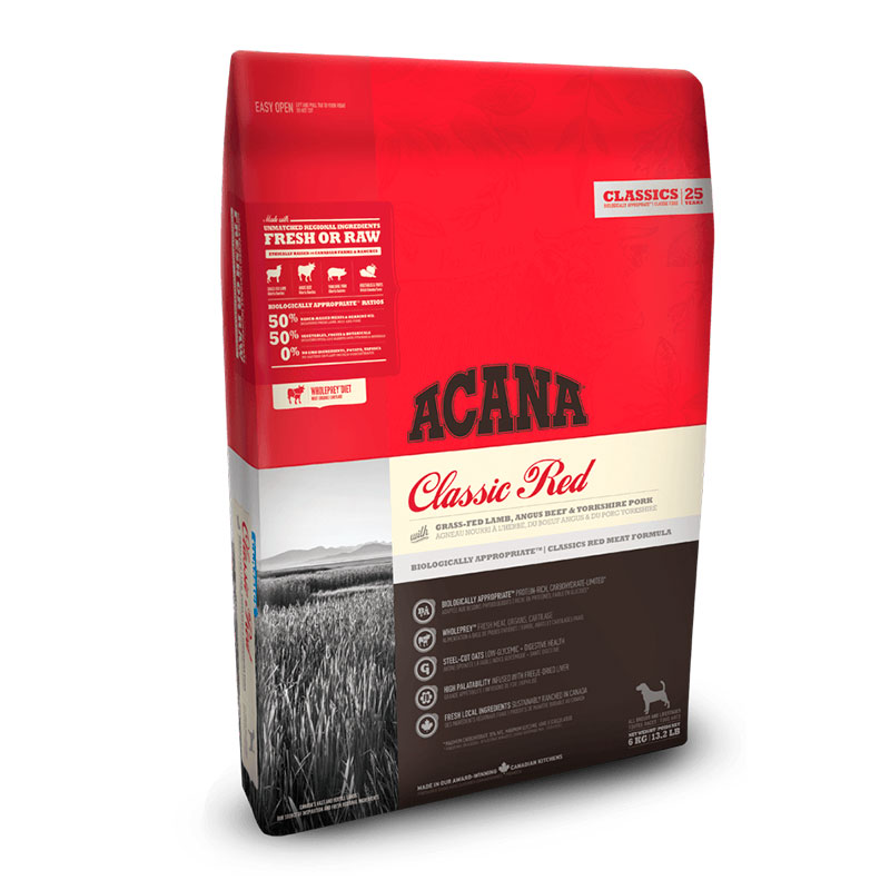 Acana Classic Red feed for adult dogs