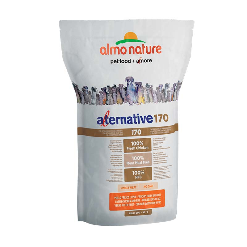 Almo Nature Dog Alternative Dry 170 Adult XS/S Pollo y Arroz