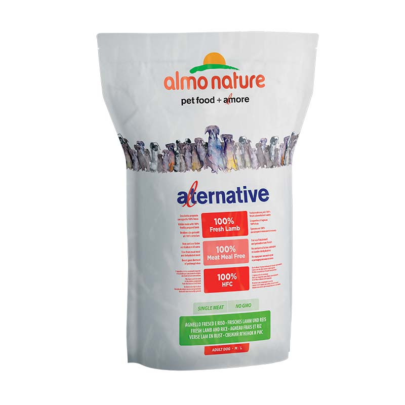 Almo Nature Dog Alternative Dry M/L Cordero y Arroz