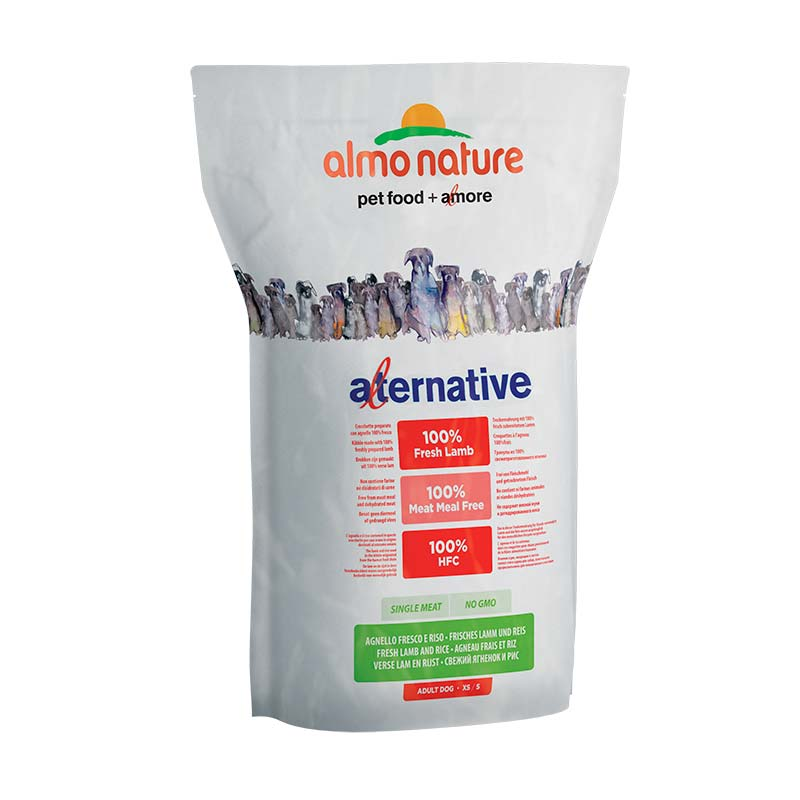 Almo Nature Dog Alternative Dry Adult XS/S Cordero y Arroz