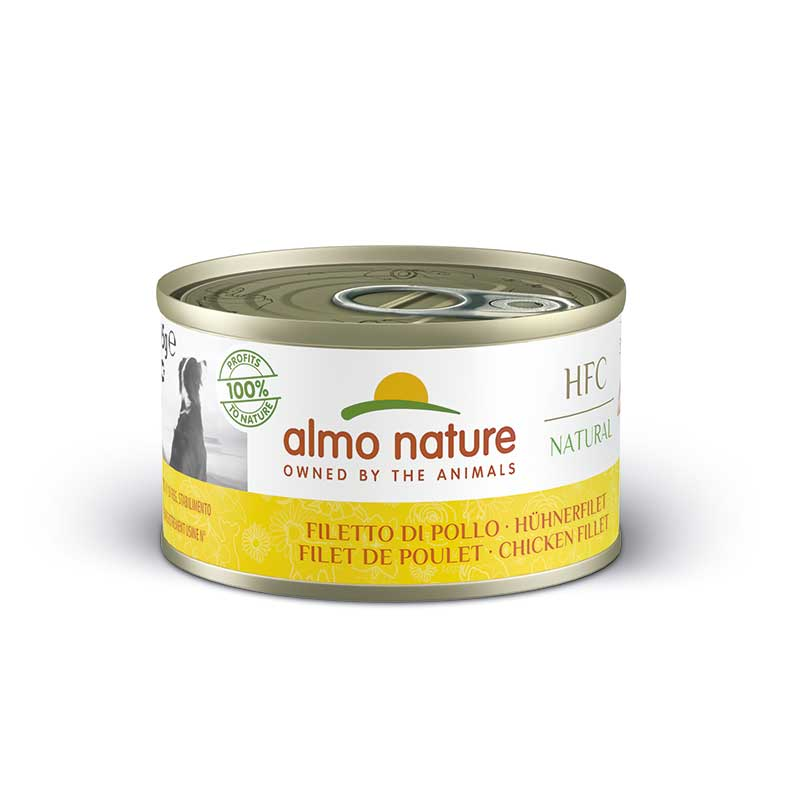Almo Nature Classic Wet  Food with Chicken Fillet