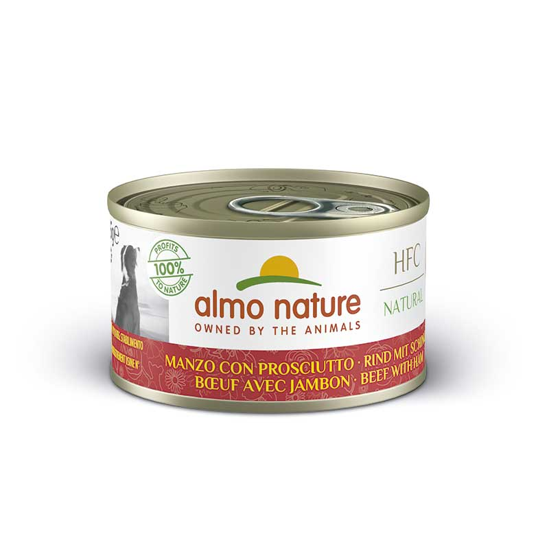 Almo Nature Classic Wet  Food with Beef with Ham