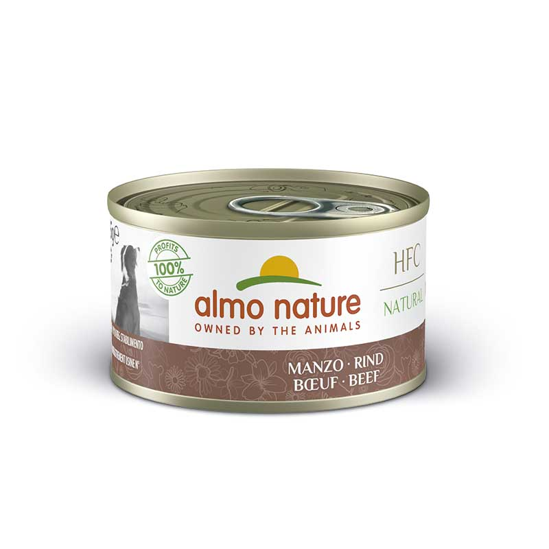 Almo Nature Classic Wet  Food with Beef