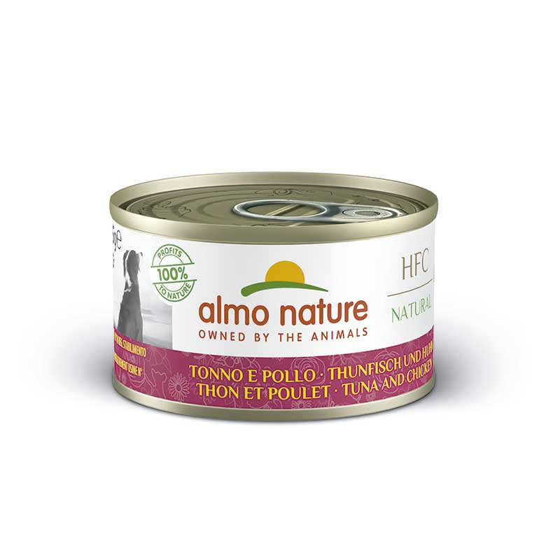 Almo Nature Classic Wet  Food with Tuna and Chicken