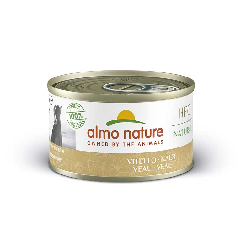 Almo Nature Classic Wet  Food with Veal