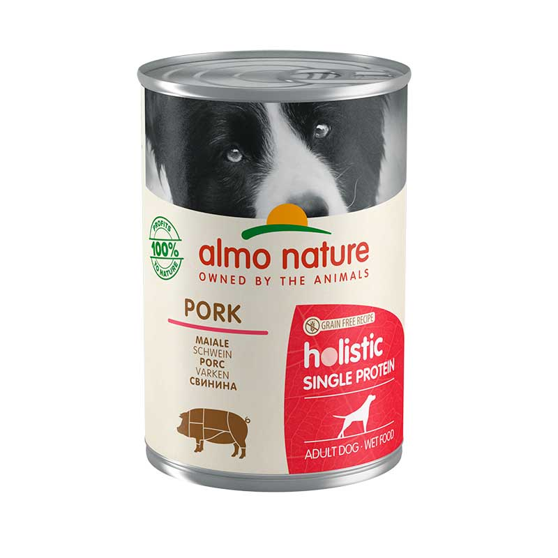 Almo Nature Single Protein Cerdo 400g