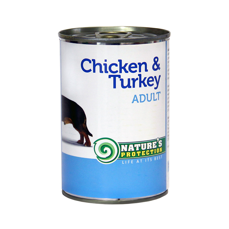 Nature's Protection Adult Chicken And Turkey