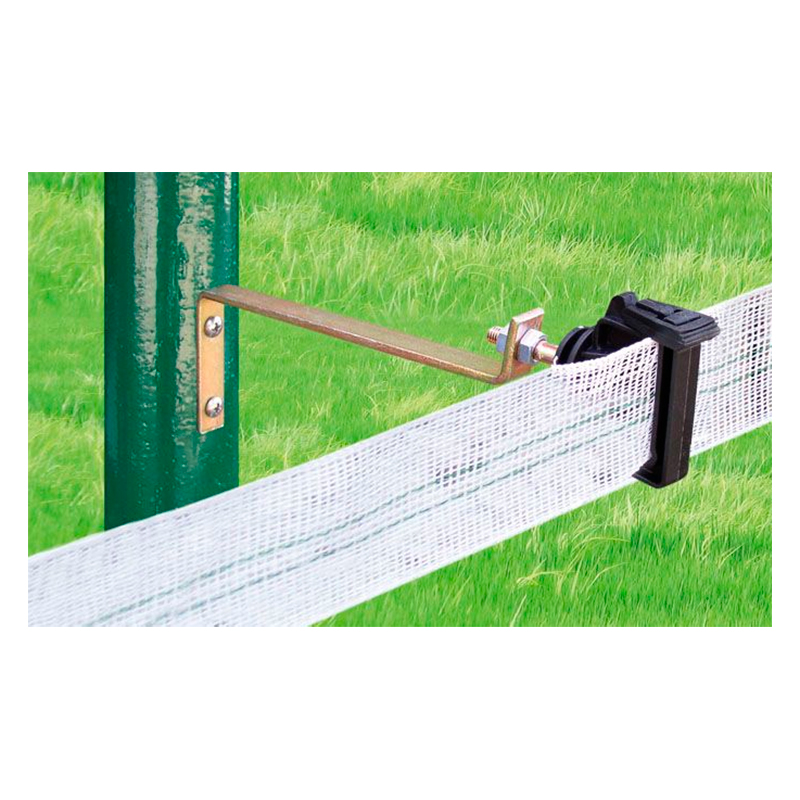 Z-62 insulator with 21 cm spacer plate-metal electric fencing