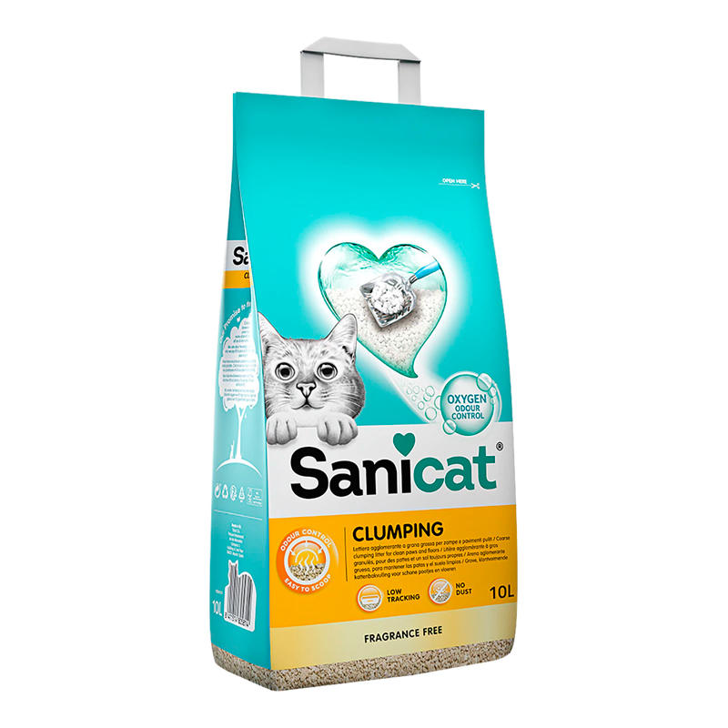 Sanicat Cat Litter Clumping