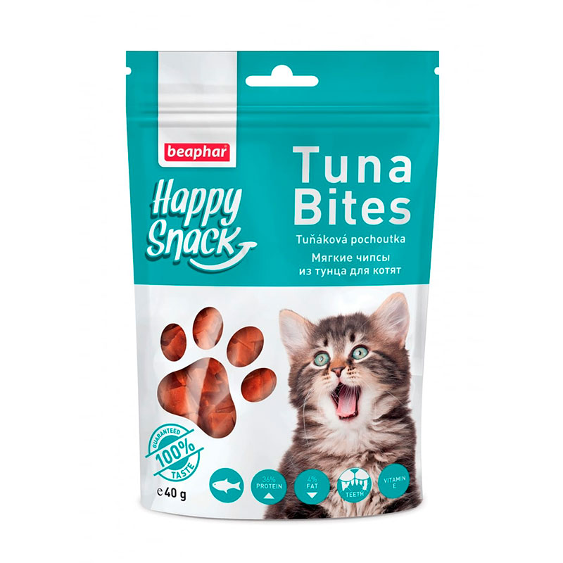 Beaphar Happy Snacks Tuna Bites for cats 40gr