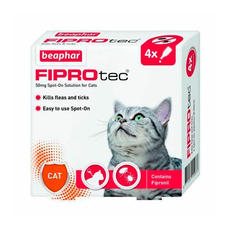 External Antiparasitic Beaphar Fiprotec Spot-on for Cats