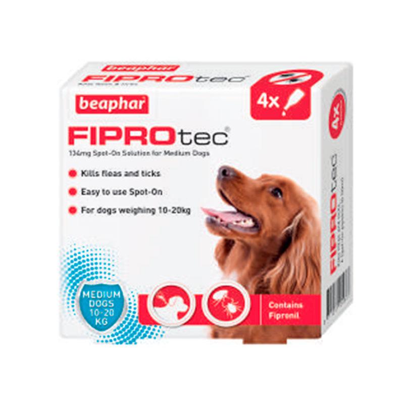 Antiparasitario Externo Beaphar FiproTec perro mediano 10-20kg