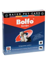 Bolfo Antiparasitic Cat Collar