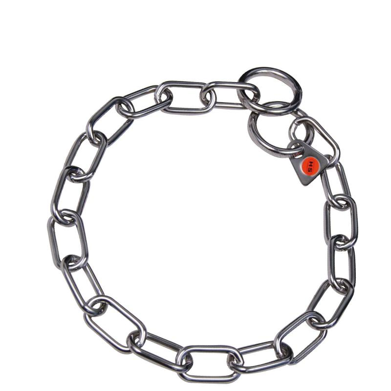 HS Sprenger Stainless Short Link Necklace 3mm Thick