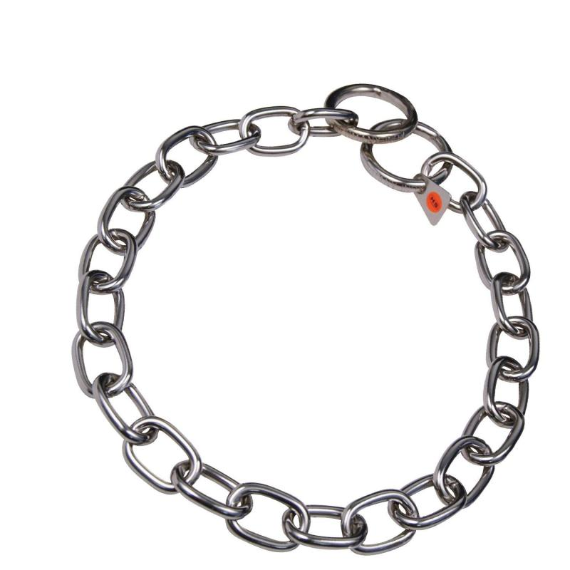 HS Sprenger Stainless Short Link Necklace 4mm Thick