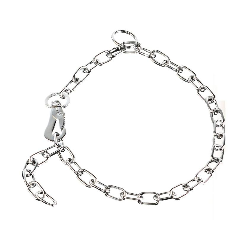 HS Sprenger Chrome Steel Adjustable Short Link Necklace