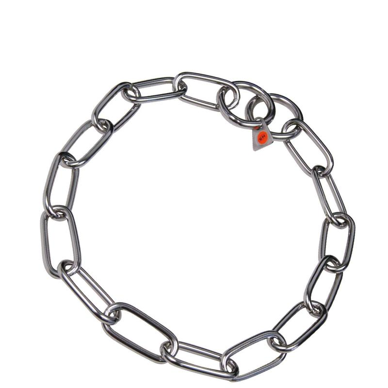 HS Sprenger Stainless Steel Middle Link Necklace 4mm Thick