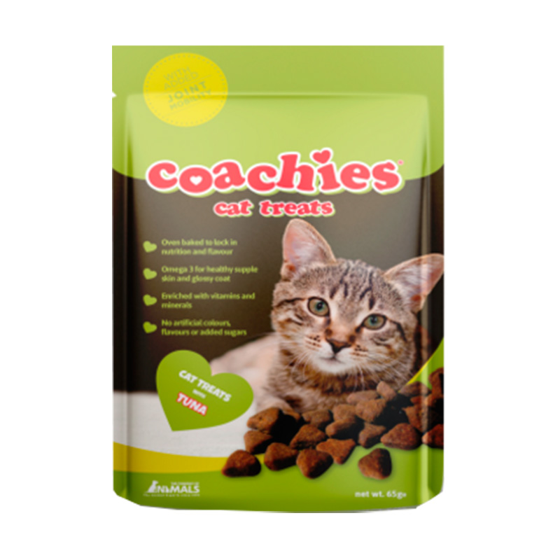 Coachies Cat Treats Tuna with Joint Mobility 65gr