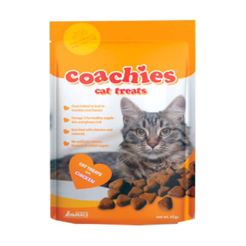 Coachies Cat Treats Chicken with Hairball Prevention 65gr